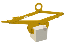 Blockgreifer mit erhöhtem Anpressdruck mit Last
