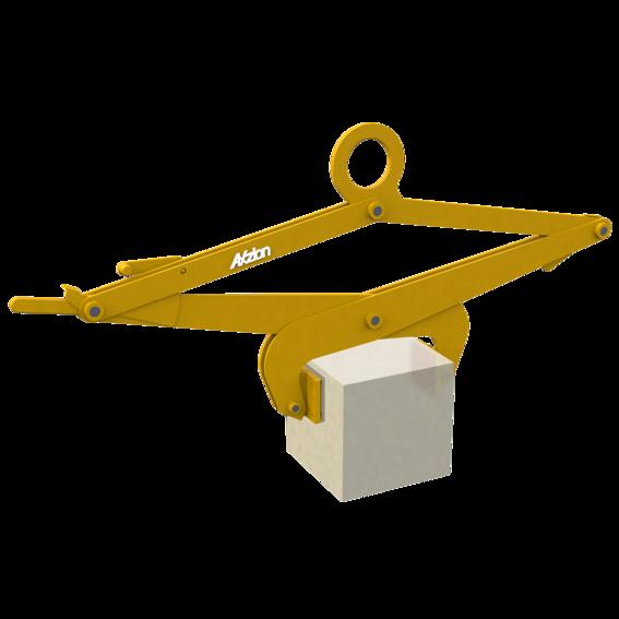 Blockgreifer für Lasten mit glatten Oberflächen   Evers GmbH