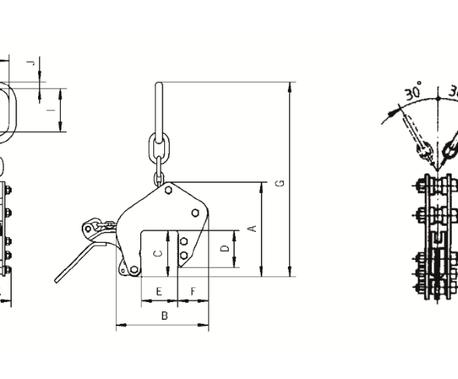 Allzweckgreifer ETAG- Zeichnung