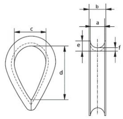 Maße der Kauschen EV-6135