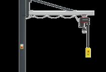 Einzelproduktfoto des Säulenschwenkkrans Unilift US
