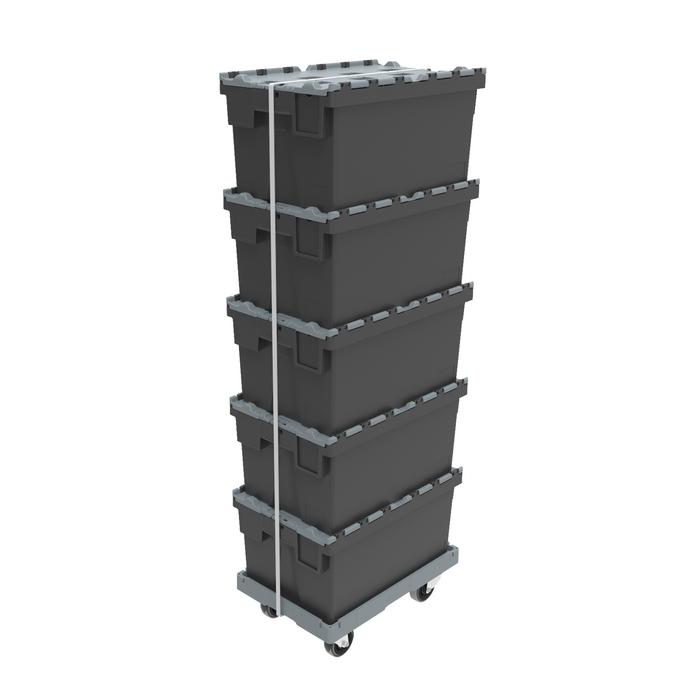 Die Transportroller sind mit allen ALC-Mehrwegbehältern kompatibel.
