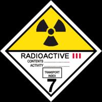 Gefahrgutklasse 7: Radioactive