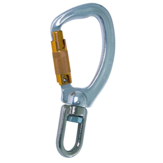 Aluminium-Trilock-Karabinerhaken, AXW-TR | Evers GmbH