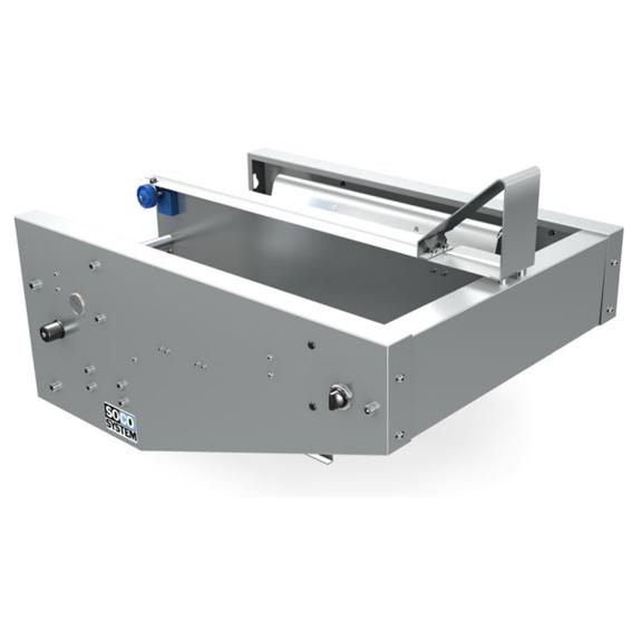 Halbautomatischer Bodenklappenfalter F-100 | Evers GmbH