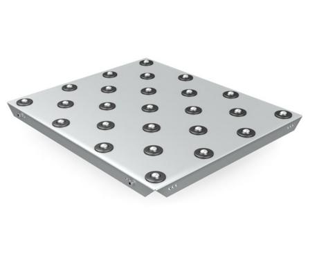 Asymmetrischer Kugeltisch