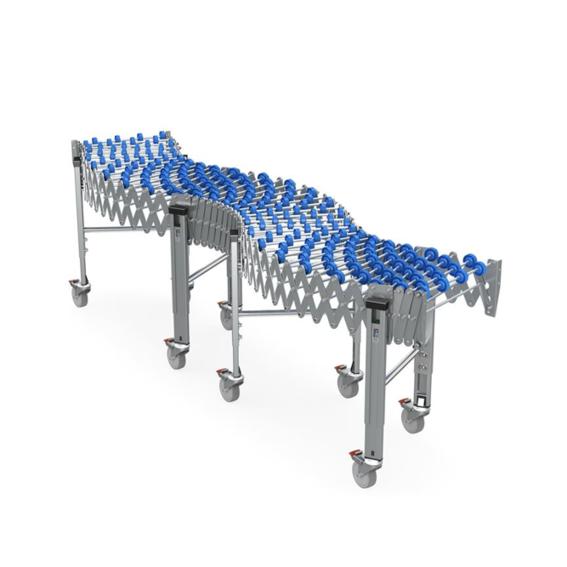 Freilaufende flexible Rollenbahnen   Evers GmbH