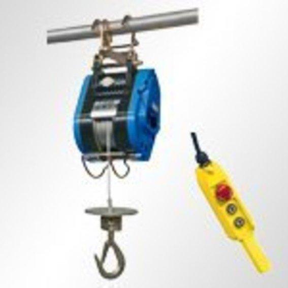 Elektro-Bau-Seilzug, leicht & kompakt | Evers GmbH