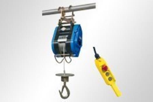 Elektro-Bau-Seilzug, leicht & kompakt