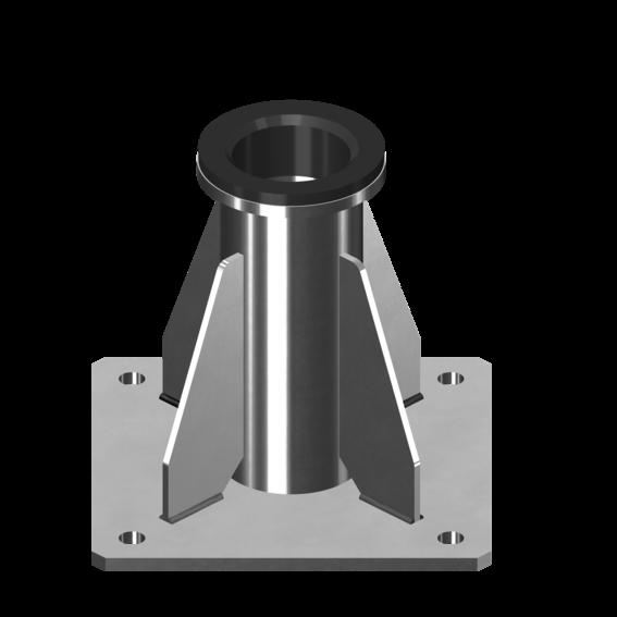 Befestigung für Auslegerarmsysteme 1, 3, 4 | Evers GmbH