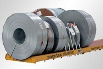 Coillager mit secutex Auflage, Werkstoff: Stahl