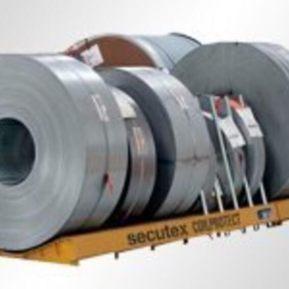 Coillager mit secutex Auflage, Werkstoff: Stahl | Evers GmbH