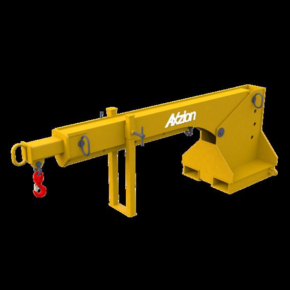 Kranarm für Gabelstapler, teleskopierbar   Evers GmbH