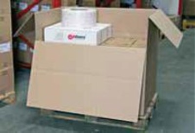 Wellpapp-Faltcontainer