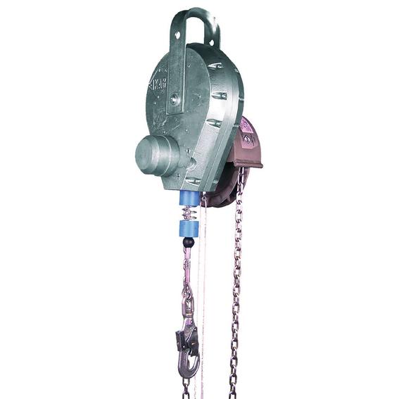 Höhensicherungsgeräte mit Rettungs-Haspel-Kette | Evers GmbH