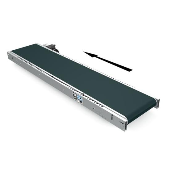 Bandförderer mit Plattenbandbettung | Evers GmbH