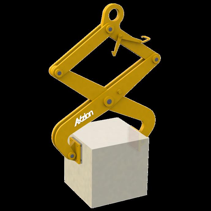 Blockgreifer mit kleiner Last