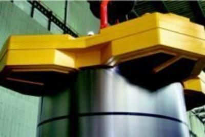 EPM-Coilheber für vertikale Wickelachse