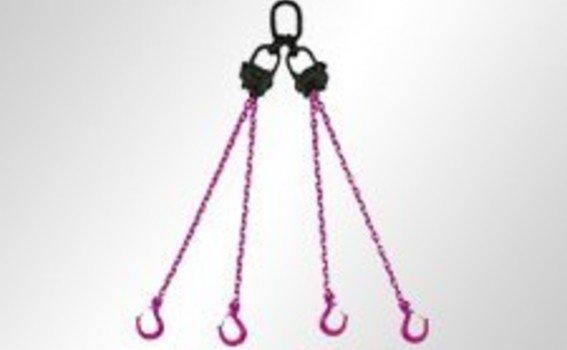 RUD VIP-4-Strang-Mini-Kettengehänge, mit Verkürzung
