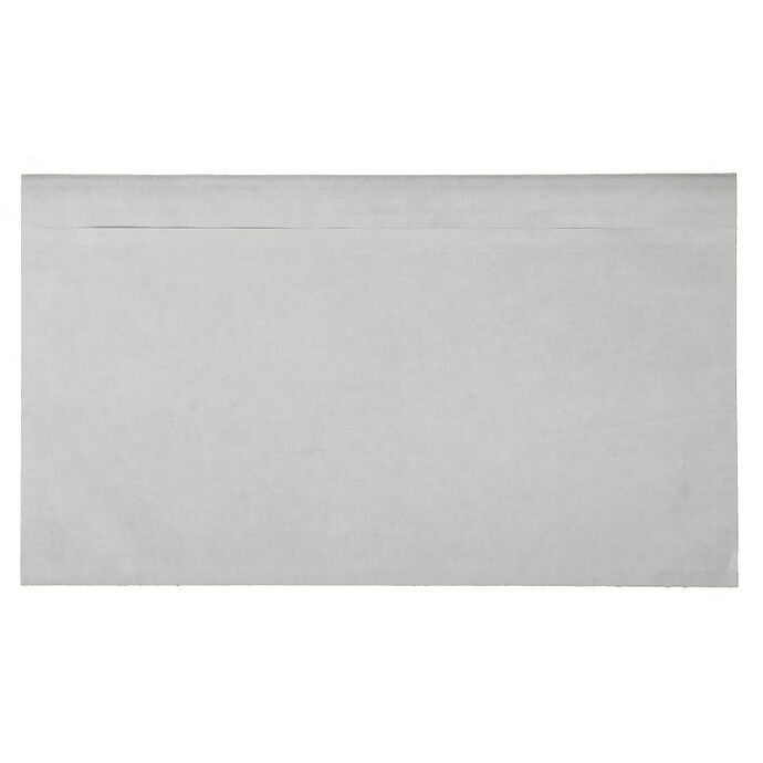 Evers-Begleitpapiertasche aus Papier mit neutraler transparenter Rückseite