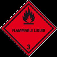 Gefahrgutklasse 3: Flammable Liquid