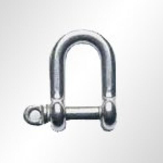 Edelstahl-Schäkel, Form gerade, kurz | Evers GmbH