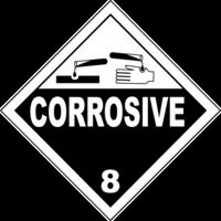 Gefahrgutklasse 8: Corrosive