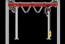 Einzelproduktfoto des Zweischienenportalkrans P300