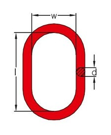 Aufhängering Typ A für 1-/2-Strangketten GK8