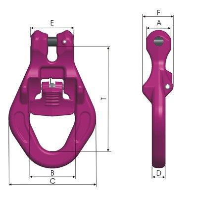 RUD ICE-Mulden-Einhängeglied IMEG