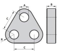 Schwerlast-Triangel