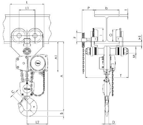 Lift 360 mit Roll- oder Haspelfahrwerk