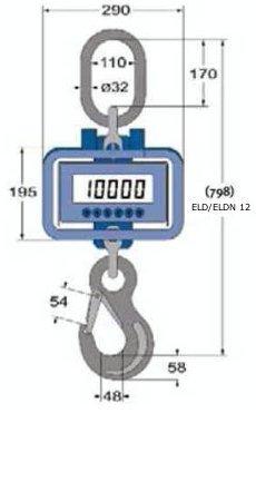Digital-Kranwaagen ELD / ELDN