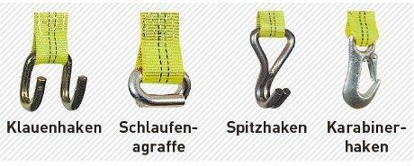 SpanSet 2t Druckratschen Zurrgurt Typ 01804P