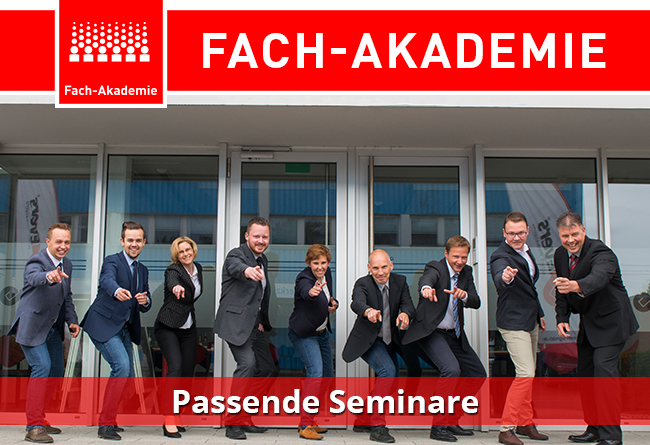 Fach-Akademie: Passende Seminare